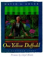 One Yellow Daffodil by David A. Adler