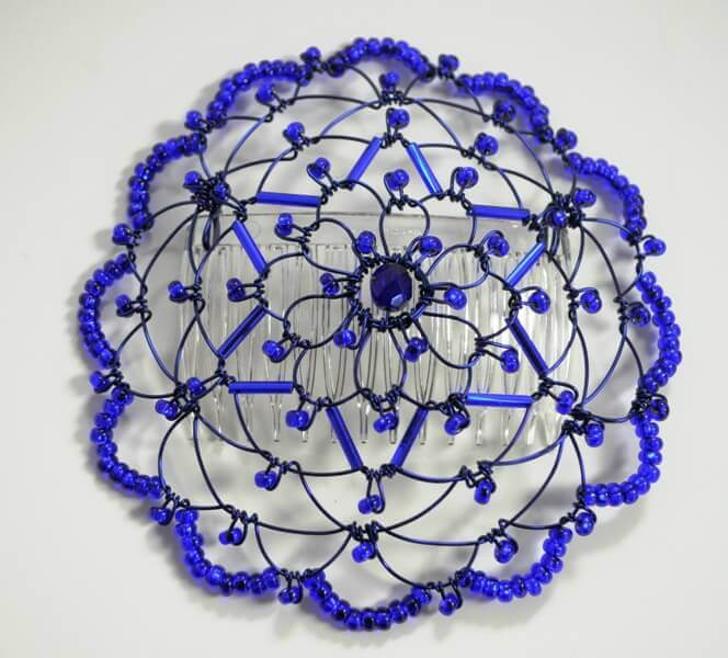 Cobalt, Cobalt Star of David Wire Kippah