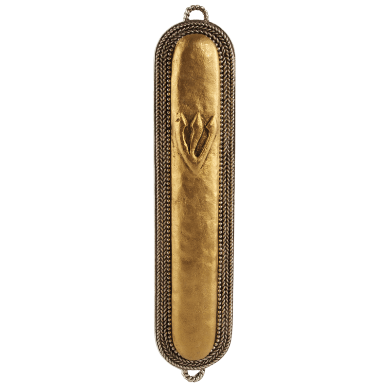 Antique Braid Mezuzah, by Quest