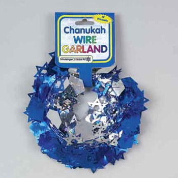 Chanukah Wire Garland