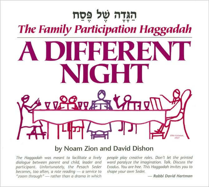 Different Night-Family Participation Haggadah