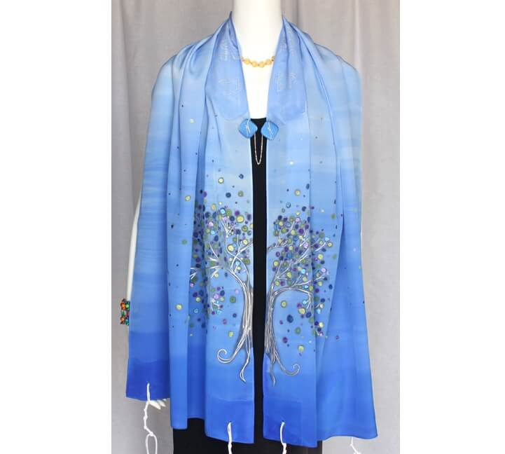 Joy Tallit, Holland Blue