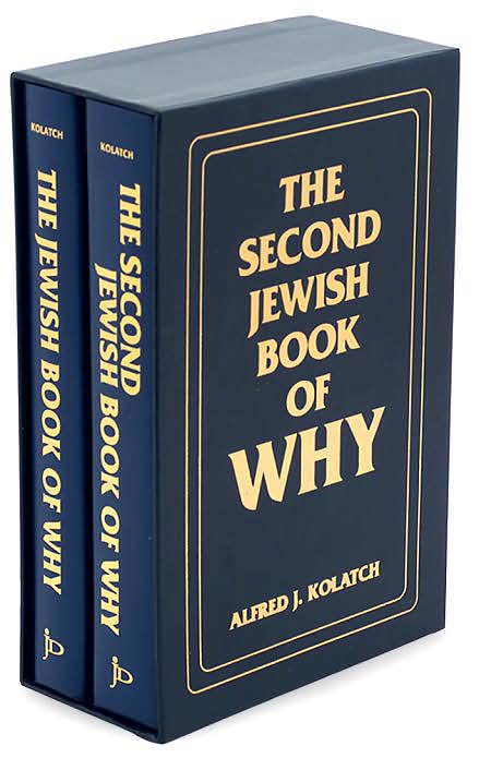Jewish Book of Why, 2 Volume Set Slipcased, by Rabbi Kolatch