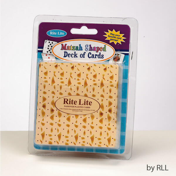 Matzah Shaped Playing Cards