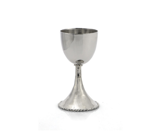 Molten Kiddush Cup, by Michael Aram