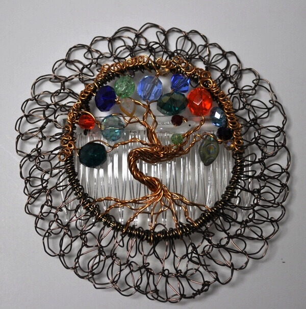 Etz Chaim Tree of Life Mulit-Colored Wire Kippah