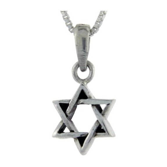 Classic Star of David Pendent