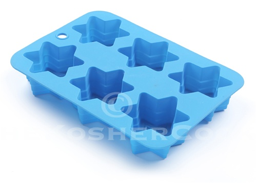 Star of David Silicone Cupcake Muffin Pan