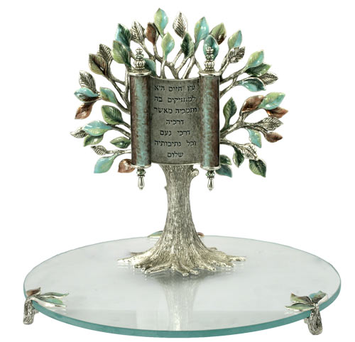 Tree of Life with Torah Scroll