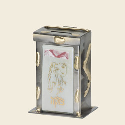 Woman of Valor Tzedakah Box, by Gary Rosenthal